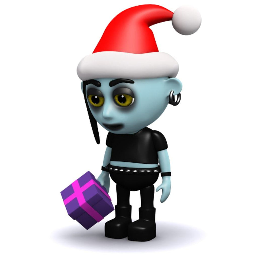 Decorating: Goth Christmas Décor Tips That Will Get Us All Thinking of Tim Burton