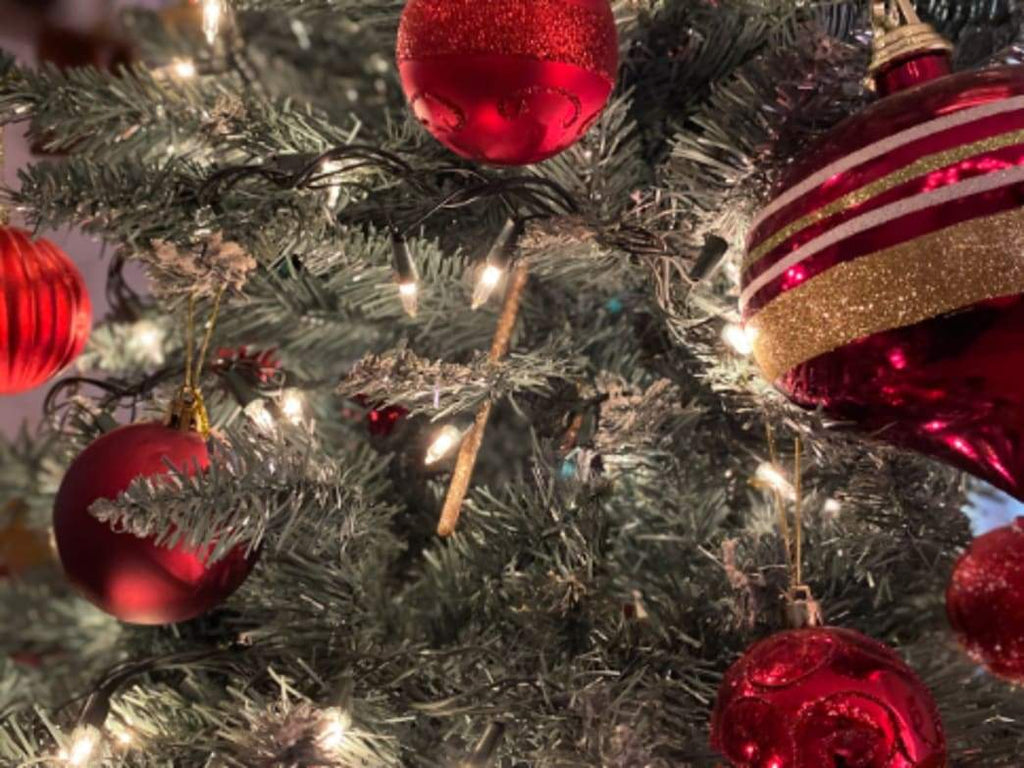 Decorating: Don't stress about what kind of Christmas tree to buy, but reuse artificial trees and compost natural ones