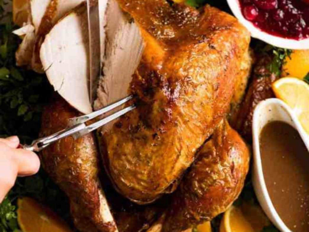 Recipe: Juicy Roast Turkey