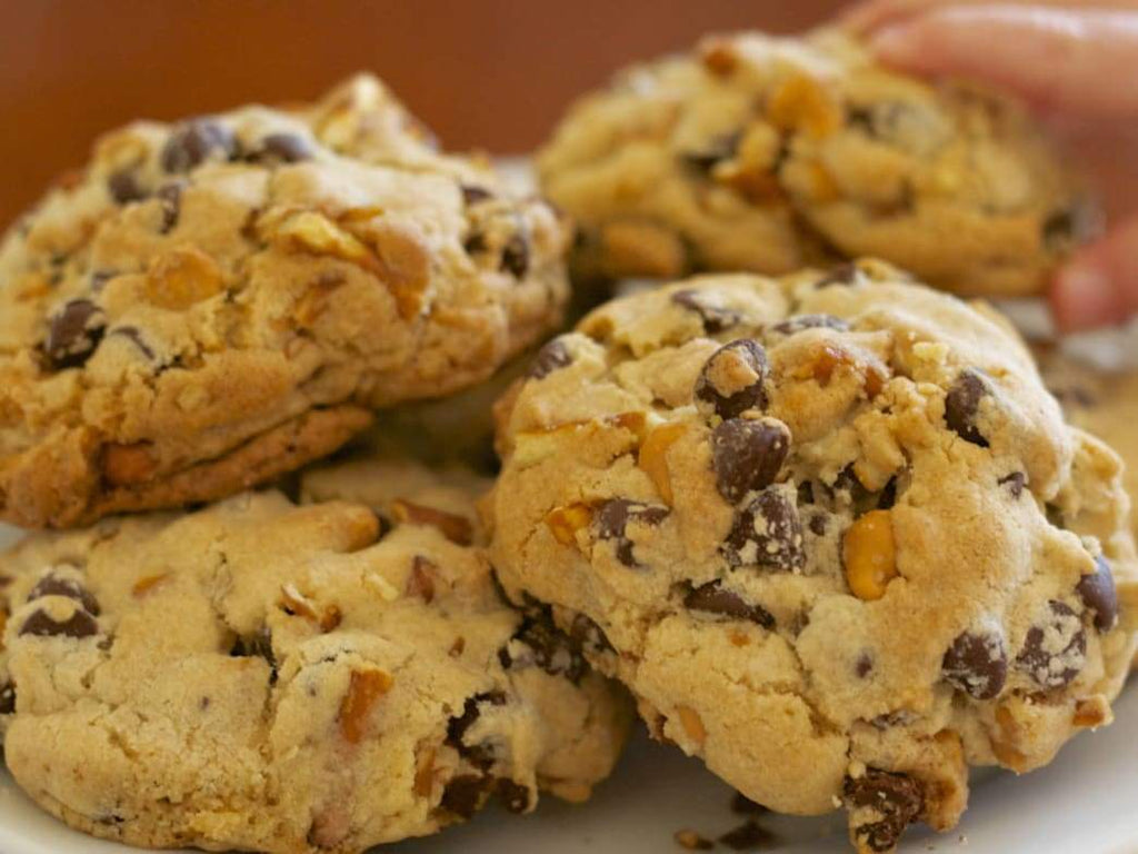 Recipe: Pretzel Chocolate Chip Cookies