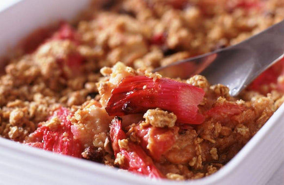Recipe: Rhubarb Crumble Recipe | Schmidt Christmas Market