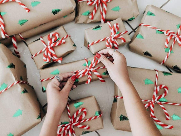 The science of gift wrapping explains why sloppy is better | Schmidt Christmas Market