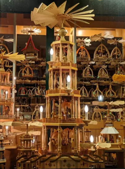Traditions: Hand Making a German Christmas Pyramid | Schmidt Christmas Market