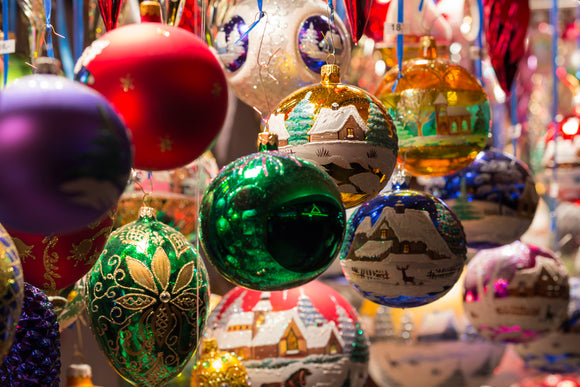 Blown Glass Christmas Ornaments | Schmidt Christmas Market
