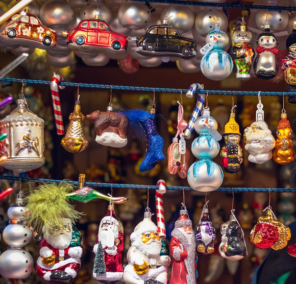 Blown Glass Ornaments | Schmidt Christmas Market