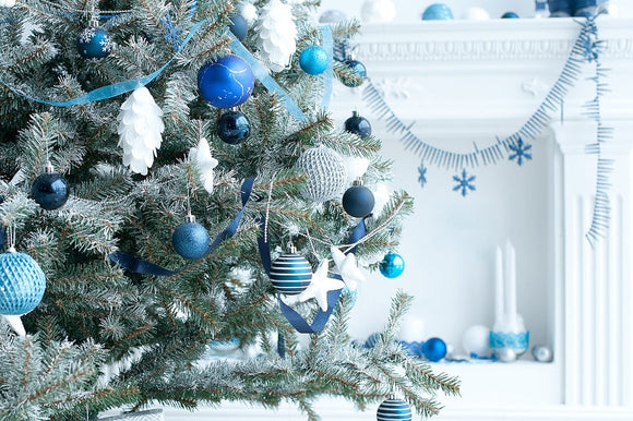Blue Christmas Ornaments | Schmidt Christmas Market
