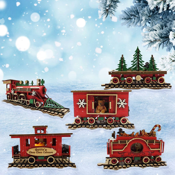 Christmas Train Decorations | Schmidt Christmas Market