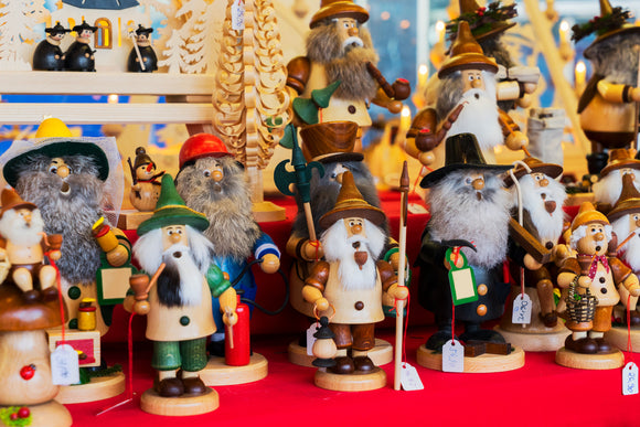 German handmade Smokers (incense) | Schmidt Christmas Market