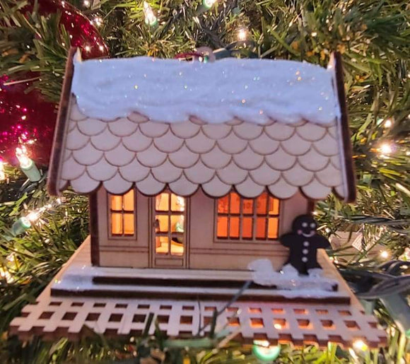 All Aboard Train Depot - Schmidt Christmas Market Christmas Decoration
