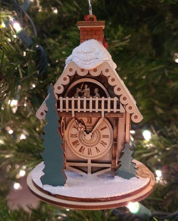 Alpine Time Clock Shoppe - Schmidt Christmas Market Christmas Decoration
