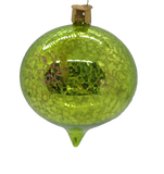 Blown Glass Handing Limelight Flare Reflection Christmas Ornament - Schmidt Christmas Market Christmas Decoration