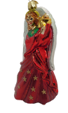Blown Glass hanging Radiant Angel Christmas Ornament - Schmidt Christmas Market Christmas Decoration