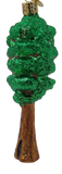 Blown Glass Hanging Redwood Tree Christmas Ornament - Schmidt Christmas Market Christmas Decoration