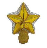 Blown Glass Small Star Tree Topper Christmas Ornament - Schmidt Christmas Market Christmas Decoration