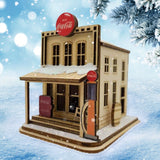 Коттедж Coca-Cola Country Store - Рождественское украшение Рождественской ярмарки Шмидта
