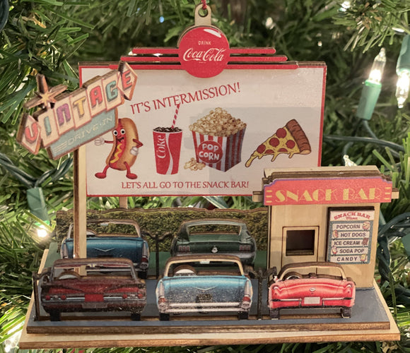 Coca-Cola Drive in Theater - Schmidt Christmas Market Christmas Decoration