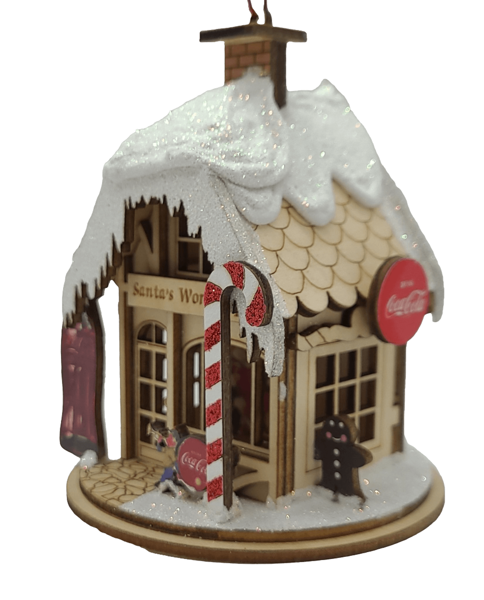 Coca Cola's Santa's Workshop - Schmidt Christmas Market Christmas Christmas Decoration