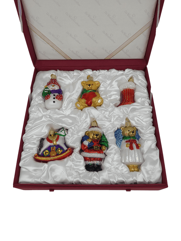 Collectable Collection Child's First Christmas Doll Ornaments in a Keepsake Box - Schmidt Christmas Market Christmas Decoration