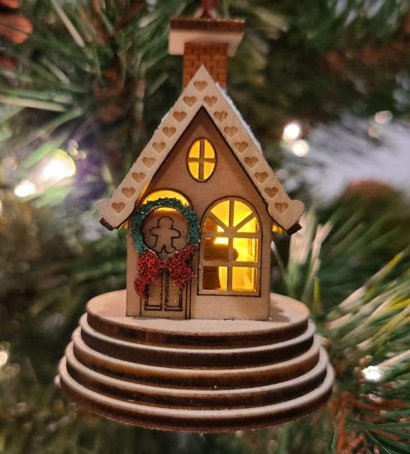 Elf Cottage - Schmidt Christmas Market Christmas Decoration