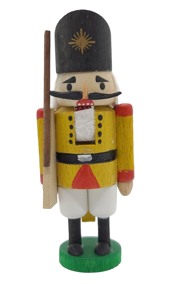 German Hand Made 3 inch Nutcracker Solider - Schmidt Christmas Market Christmas Decoration
