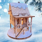 Ginger Beach Cottage Christmas Village - Schmidt Milad Bazarı Milad Dekorasiyası