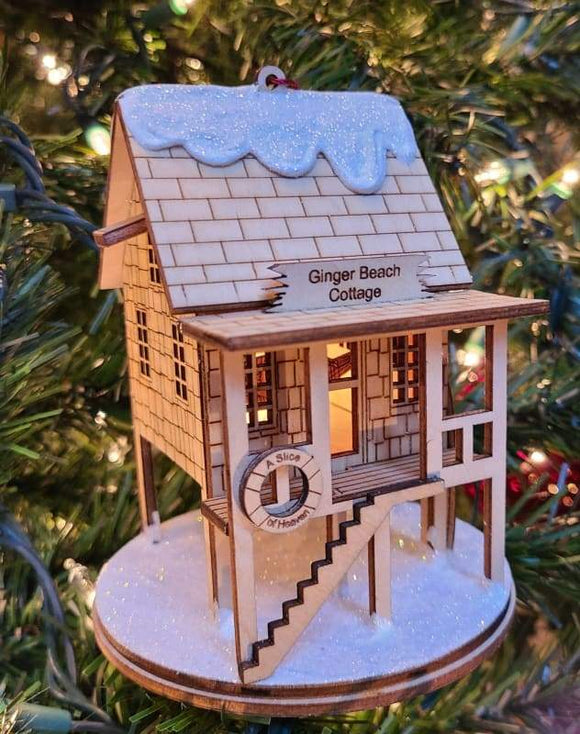 Ginger Beach Cottage - Schmidt Christmas Market Christmas Decoration