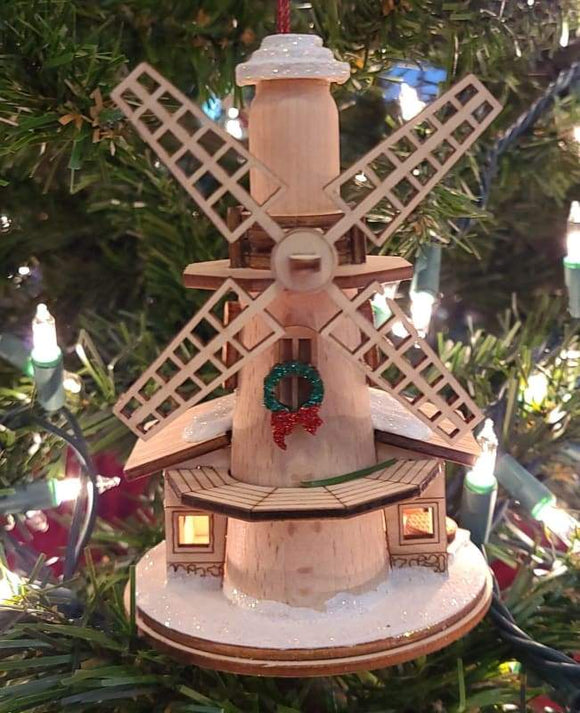 Ginger Windmill - Schmidt Christmas Market Christmas Decoration