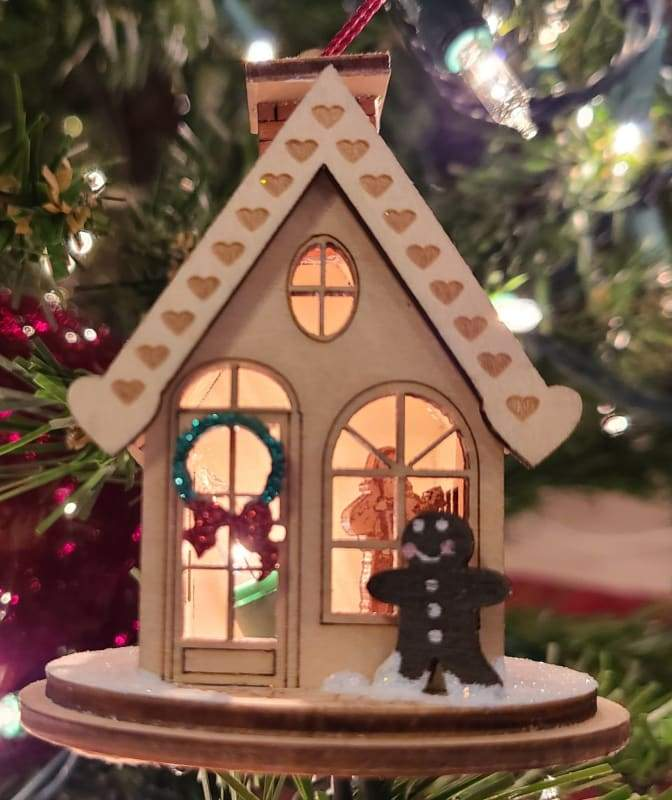 Gingerbread Cottage - Schmidt Christmas Market Christmas Decoration