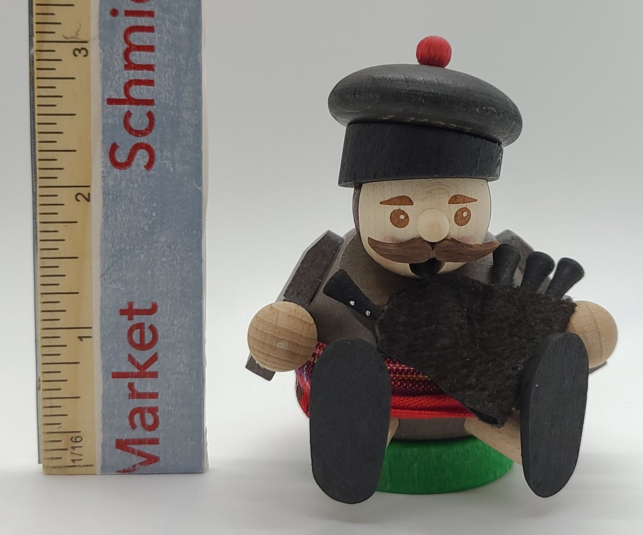 Handmade German Mini smokers Highlander Incense Burner - Schmidt Christmas Market Christmas Decoration