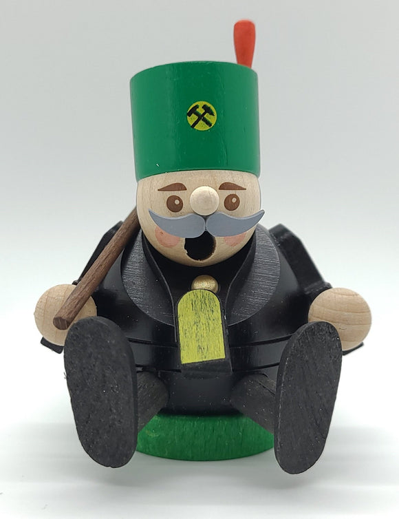 Handmade German Mini smokers miner Incense Burner - Schmidt Christmas Market Christmas Decoration