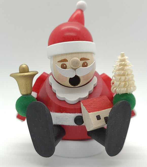 Handmade German Mini smokers Santa Claus Incense Burner - Schmidt Christmas Market Christmas Decoration