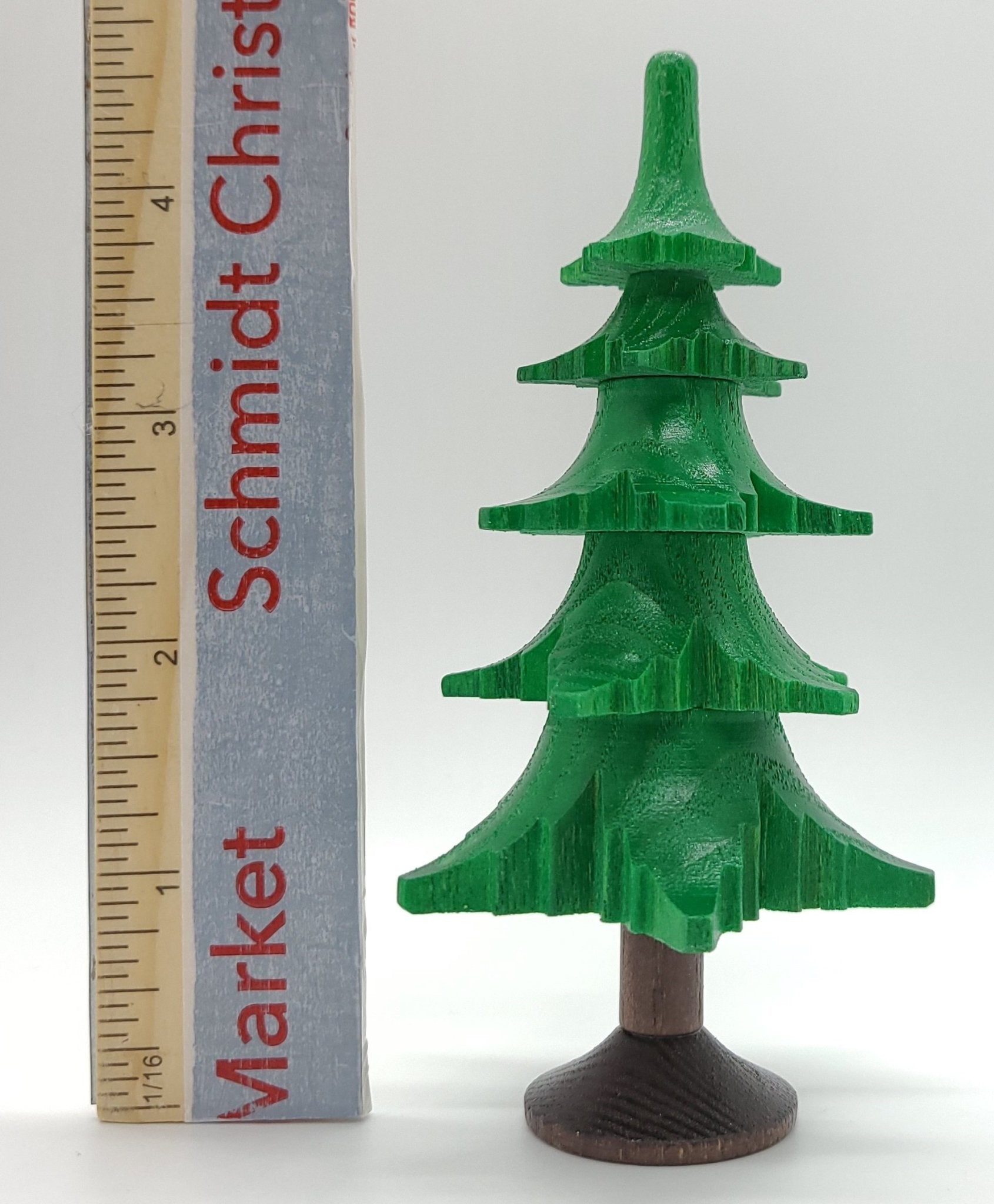 Handmade Greed Wood Tree with 5 Layers - Schmidt Christmas Market Christmas Decoration