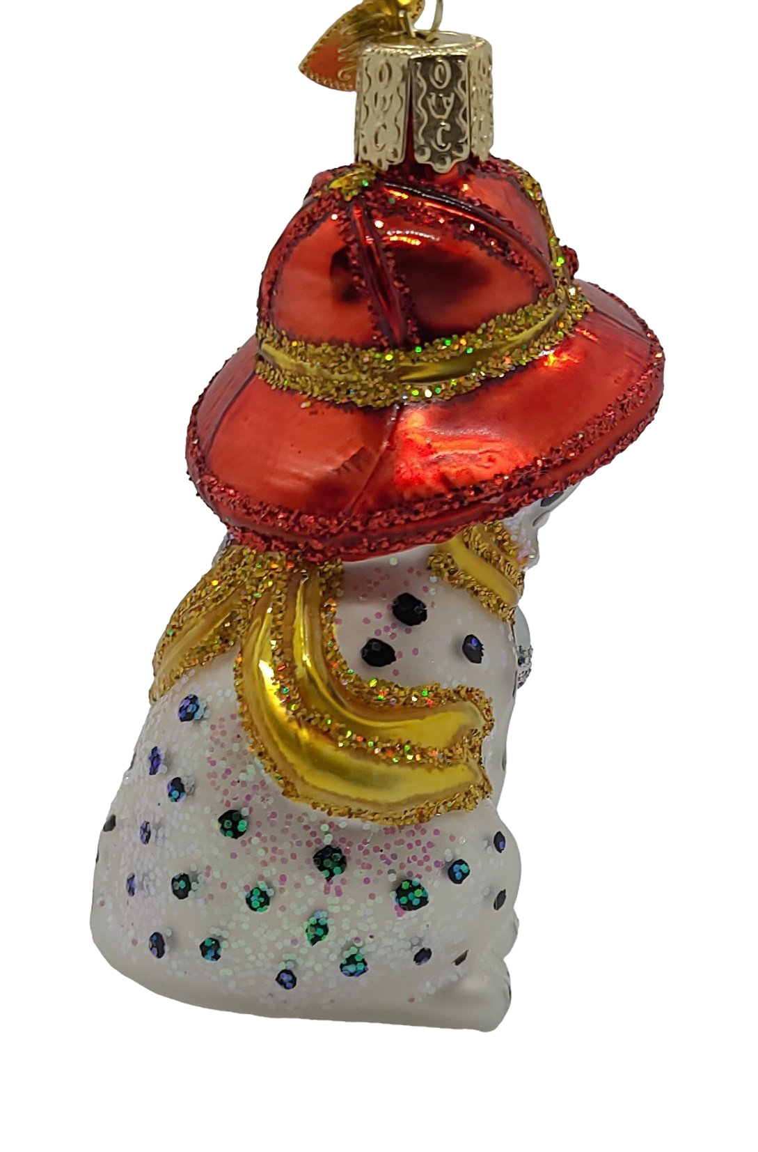 Hanging Blown Glass Dalmatian Pup Christmas Ornament - Schmidt Christmas Market Dekorasyon ng Pasko