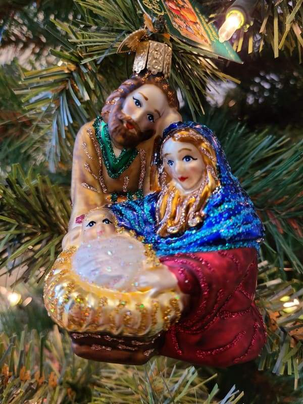Holy Family Ornament - Schmidt Christmas Market Christmas Decoration