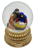 Holy Family Snow Globe na may musika - Schmidt Christmas Market Christmas Decoration