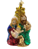 Holy Family With Star Ornament - Schmidt Christmas Market Dekorasyon ng Pasko