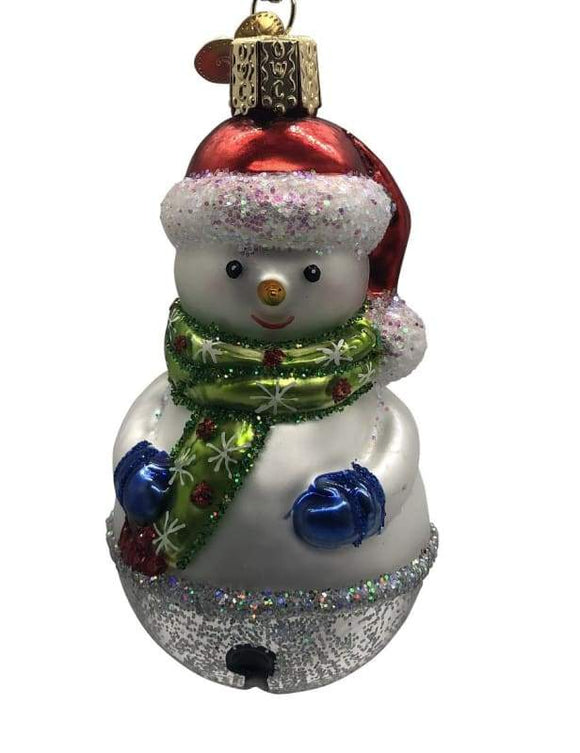 Jingle Bell Snowman Ornament - Schmidt Christmas Market Christmas Decoration