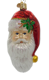 Large Blown Glass Hanging Nostalgic Santa Christmas Ornament - Schmidt Christmas Market Christmas Decoration
