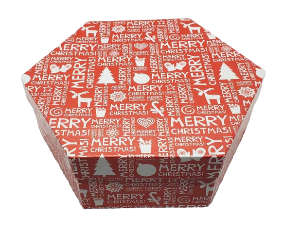 Merry Christmas Favor Box - Schmidt Christmas Market Christmas Decoration