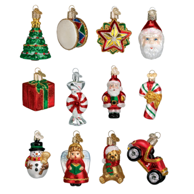 Mini Christmas Set Ornament - Schmidt Christmas Market Christmas Decoration