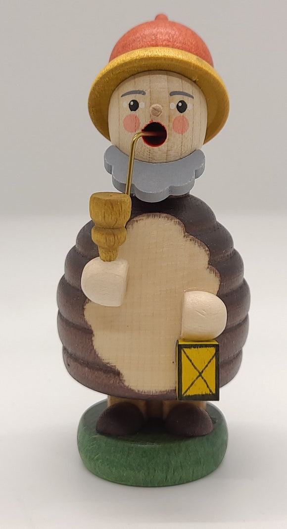Mini-Smoker Dwarf with Lantern 4 inch Decoration - Schmidt Christmas Market Christmas Decoration
