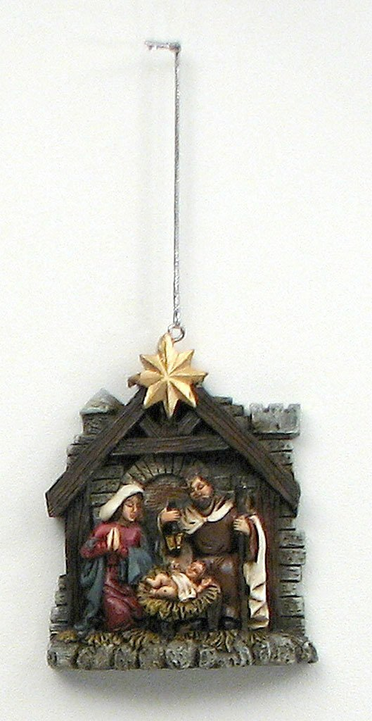 Nativity Ornament - Schmidt Christmas Market Christmas Decoration