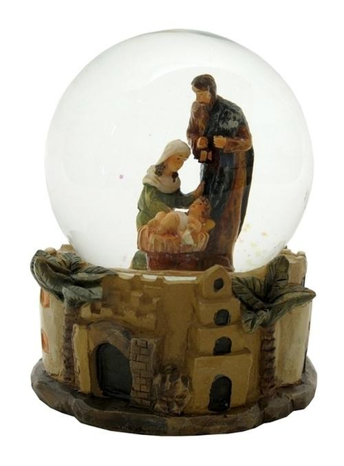 Nativity SnowGlobe - Schmidt Christmas Market Christmas Decoration