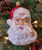 Night Before Christmas Santa - Schmidt Christmas Market Christmas Decoration
