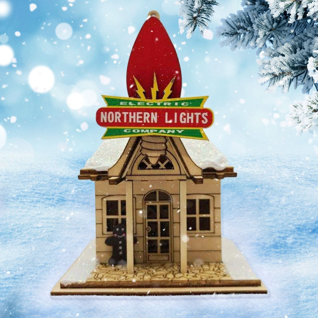 Northern Lights Electric Company - Schmidt Christmas Market Dekorasyon ng Pasko