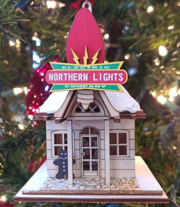 Northern Lights Electric Company - Schmidt Christmas Market Christmas Decoration