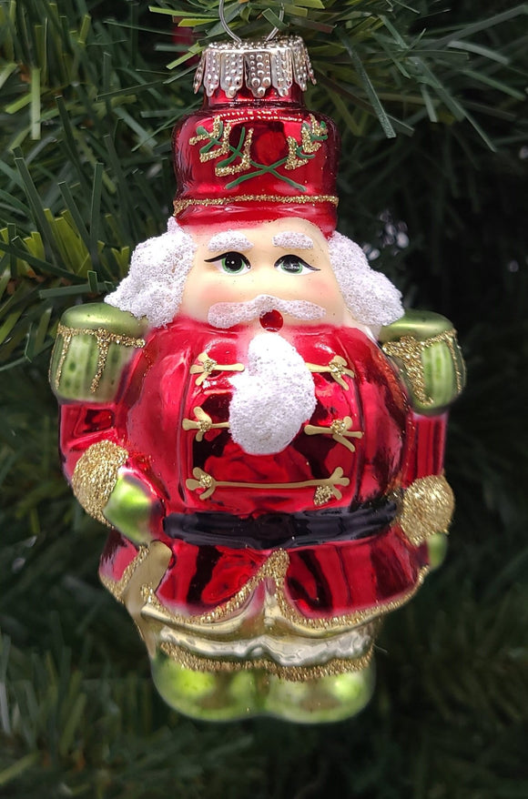 NutCracker Glass Ornament - Schmidt Christmas Market Christmas Decoration