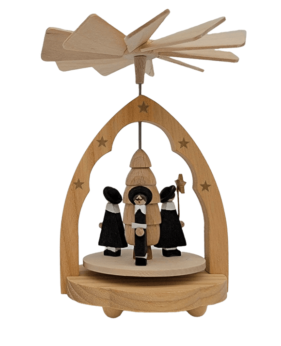 Pyramids - Richard Glaesser Carolers - Schmidt Christmas Market Christmas Decoration