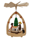 Pyramids - Richard Glaesser Colorful dog school - Schmidt Christmas Market Christmas Decoration