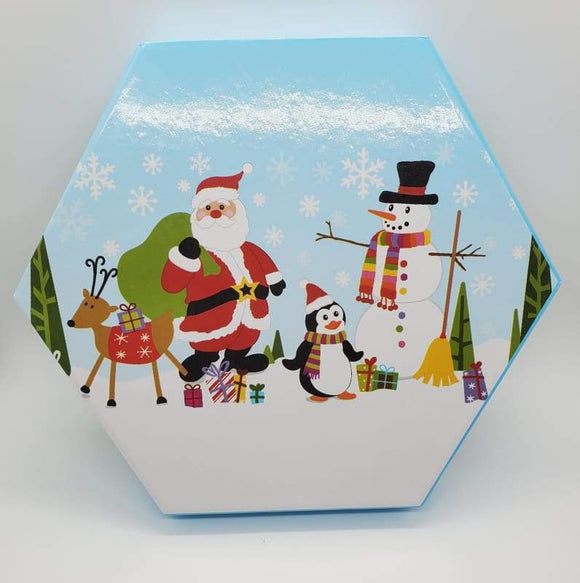 Santa and Friends Christmas Favor Box - Schmidt Christmas Market Christmas Decoration